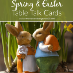 Spring & Easter Table Talk Cards