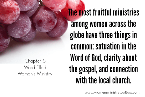 Word-Filled Women's Ministry