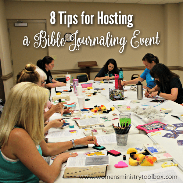 8 Tips for Hosting a Bible Journaling Event