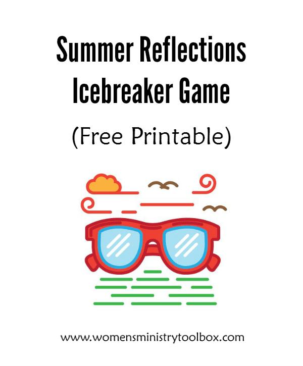 Summer Reflections Icebreaker Game