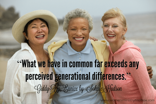 What we have in common far exceeds any perceived generational differences