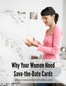 Why Your Women Need Save-the-Date Cards
