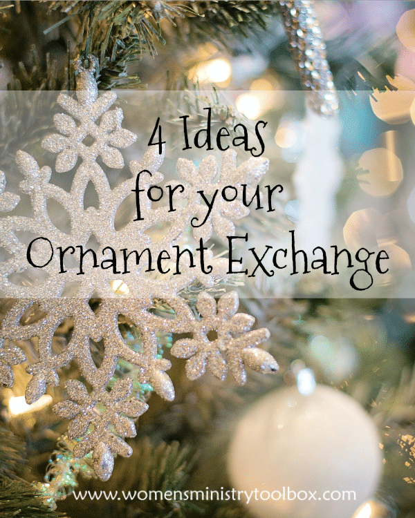 4 Ideas For Your Ornament Exchange