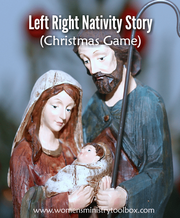 Left Right Nativity Story (Christmas Game)