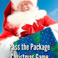 Pass the Package Christmas Game