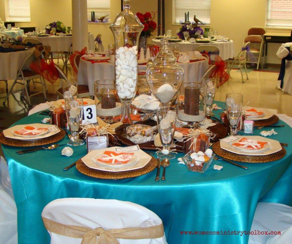 seashells table