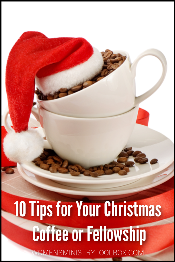 Planning a Christmas coffee or fellowship? You'll want to check out these 10 tips!