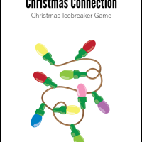 Icebreaker: Christmas Connection (Free Printable)