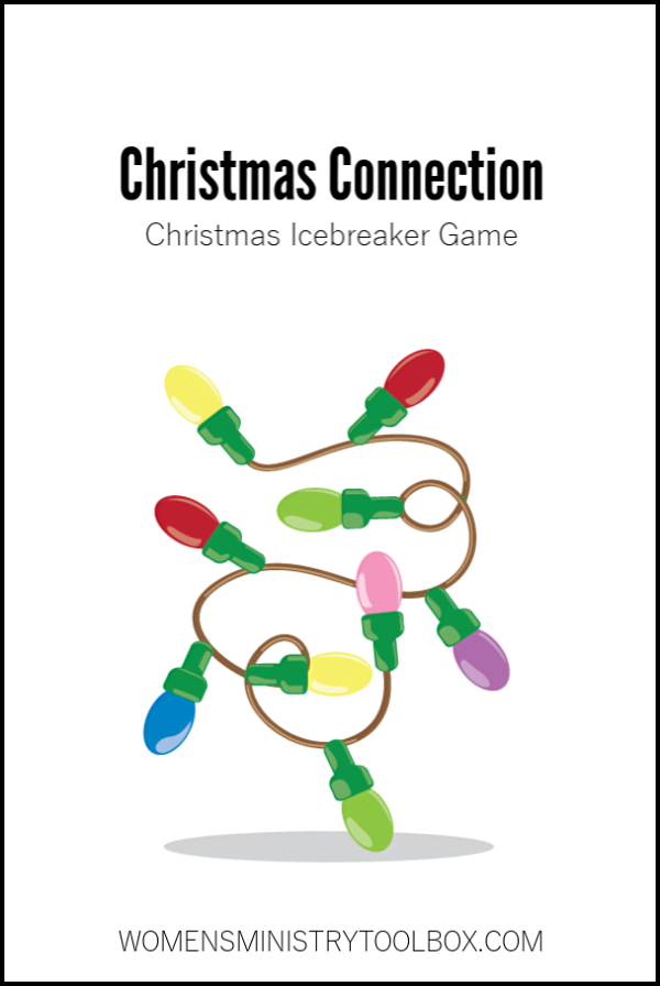 Christmas Connection is a fun Christmas icebreaker game that will help your guests make connections with one another.