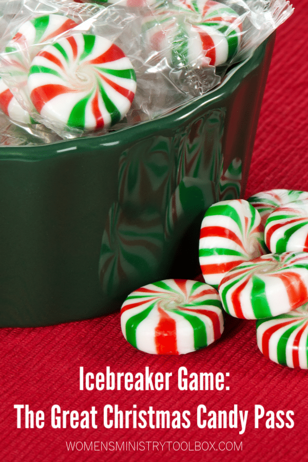 The Great Christmas Candy Pass is a fun icebreaker game for groups of all sizes.