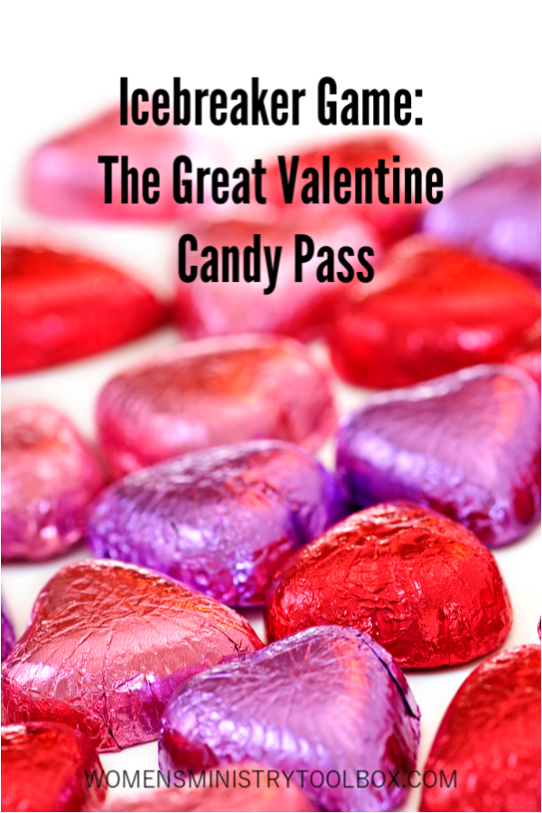 The Great Valentine Candy Pass is a fun, quick icebreaker game for groups of all sizes.
