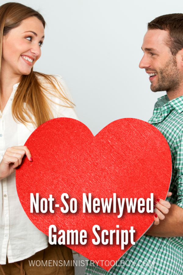 Remember the Newlywed Game and the crazy questions contestants answered? This game is a twist on that once popular show. We take married couples (Not-so Newlywed), divide them up, and try to get them to match their spouses answers to G-rated questions about their marriage.