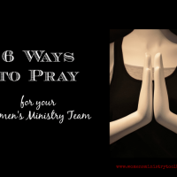 6 Ways to Pray for Your Team