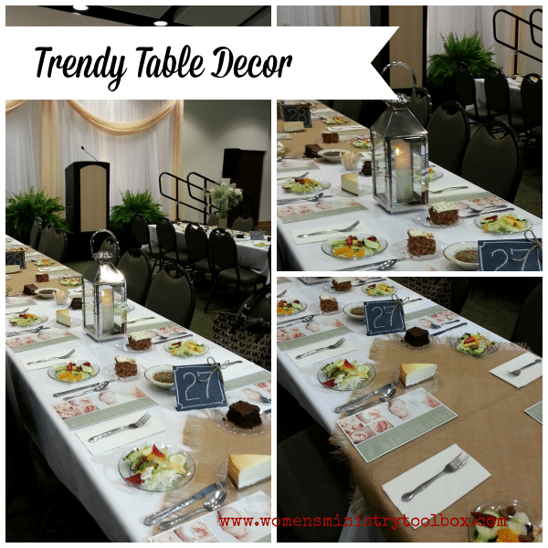 Trendy Table Decor Ideas - Simple, understated elegance.
