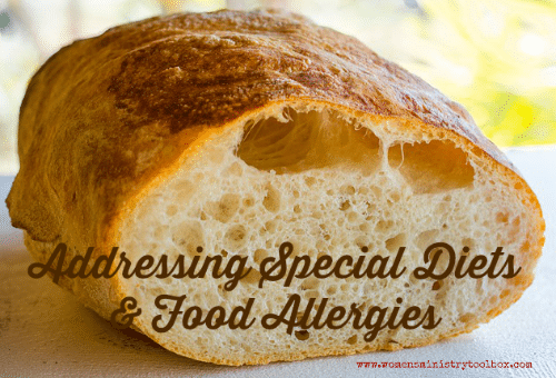 Addressing Special Diets & Food Allergies