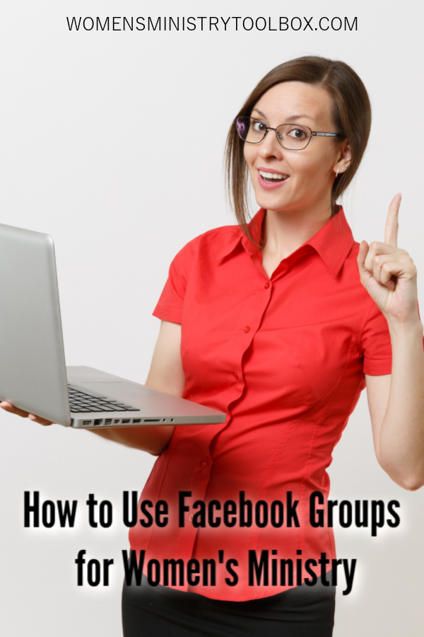 Check out these ideas for using Facebook groups for women's ministry! Helpful tips and post ideas included.