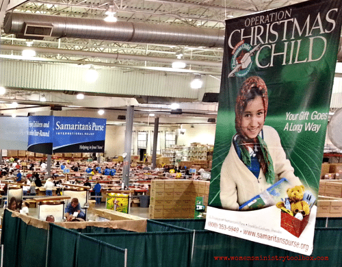Operation Christmas Child Processing Center