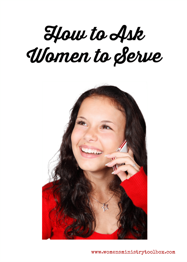 How to Ask Women to Serve