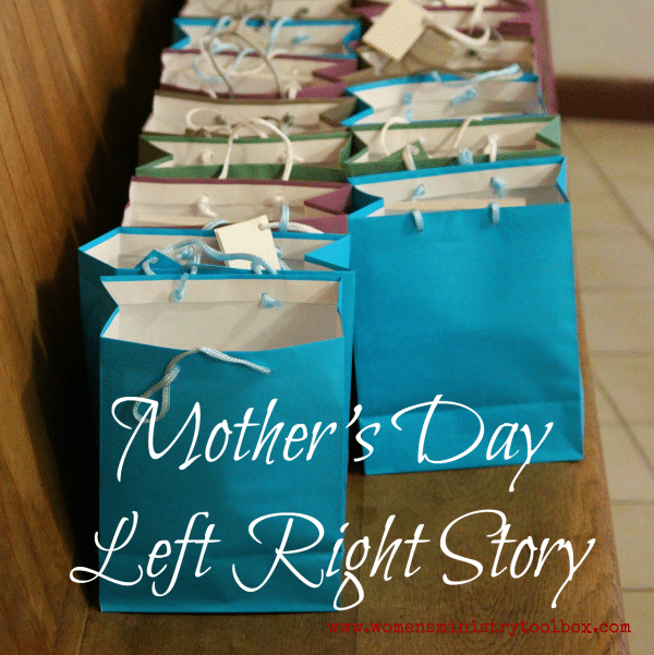 Mother's Day Left Right Story - Free Printable