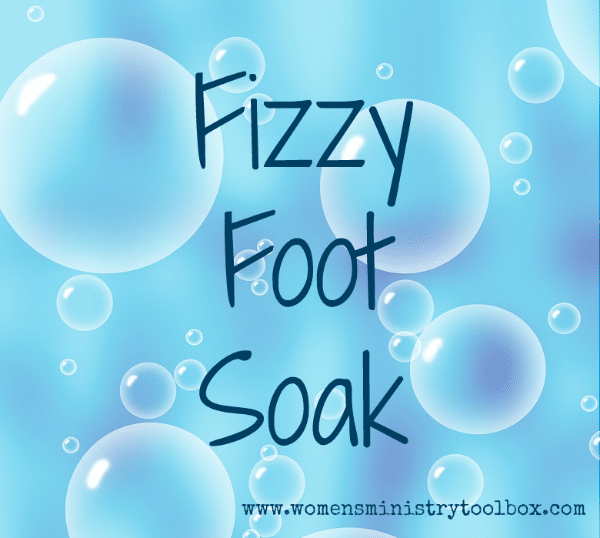 Fizzy Foot Soak