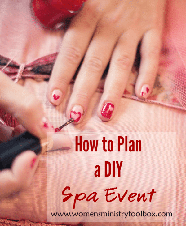 How to Plan a DIY Spa Event