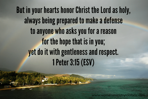 1 Peter 315 Always be prepared