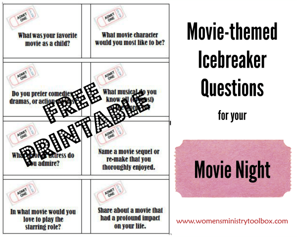 Movie-themed Icebreaker Questions