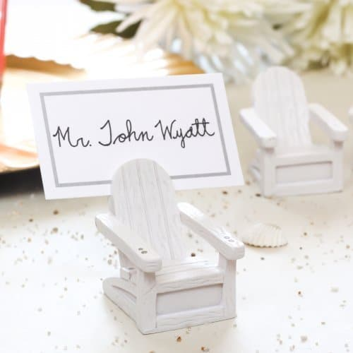 chair place card holder