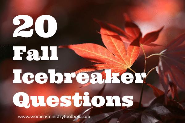 20 Fall Icebreaker Questions