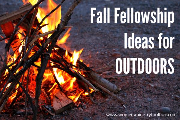 Fall Fellowship Ideas for Outdoors