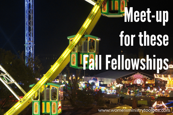 Meet-up for these fall fellowships!