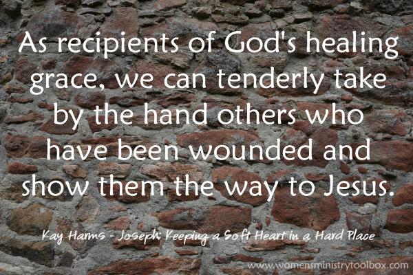 As recipients of God's healing grace