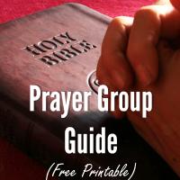 Prayer Group Guide (Free Printable)