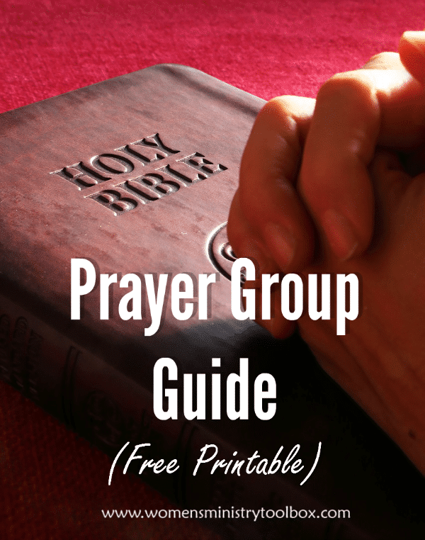 Prayer Group Guide (Free Printable)