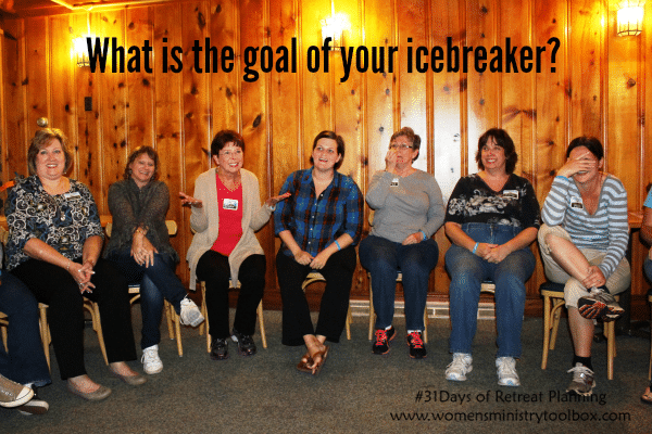 What is the goal of your icebreaker
