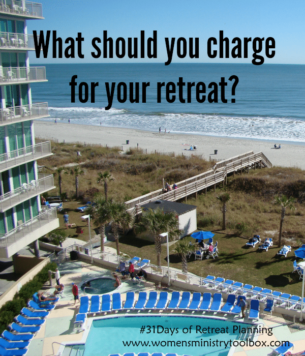What should you charge for your retreat