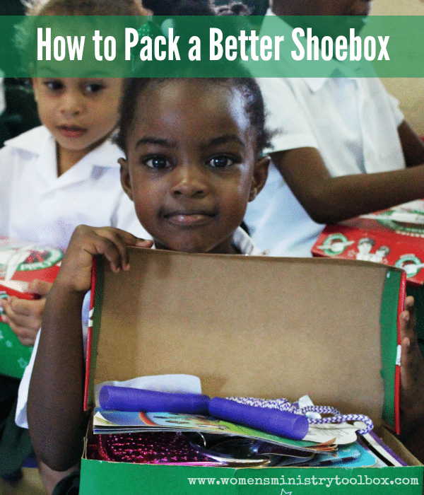 How to Pack a Better Shoebox