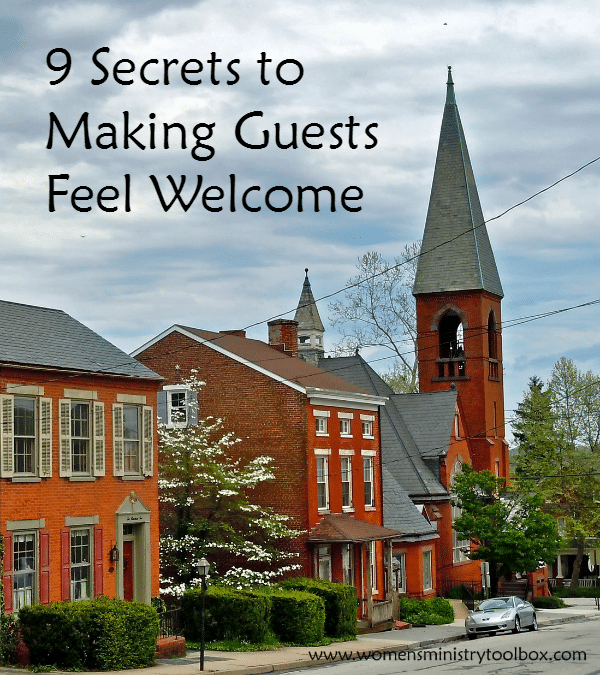 9 Secrets to Making Guests Feel Welcome