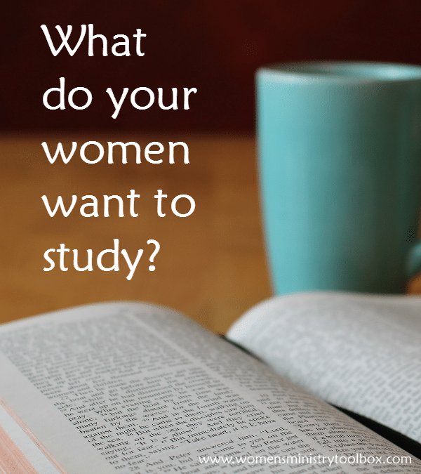 What do your women want to study
