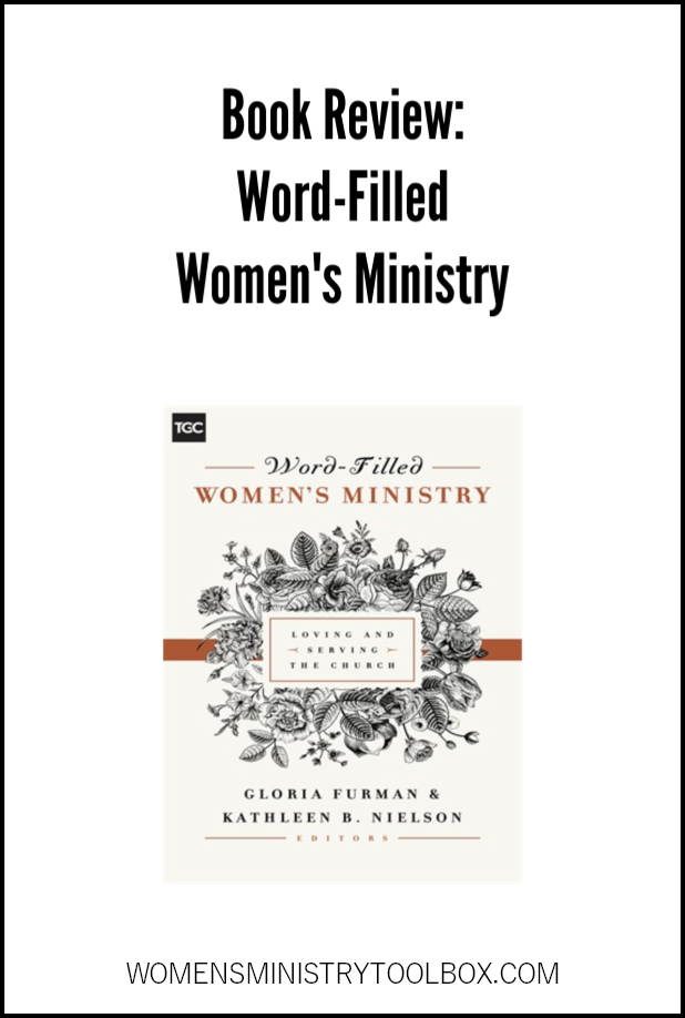 Another great women's ministry resource book you'll want to add to your library! Check out my review of Word-Filled Women's Ministry