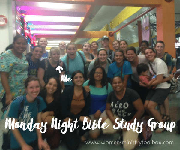 Monday Night Bible Study Group Photo