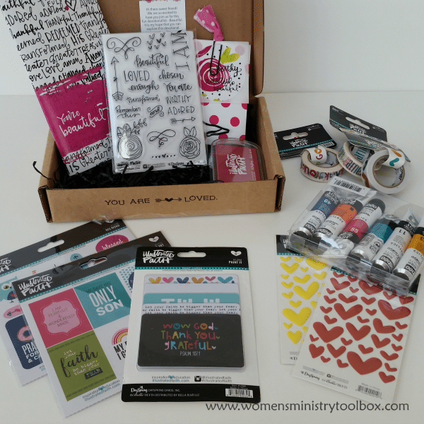 Bible Journaling products from DaySpring