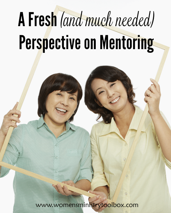 A Fresh (and much needed) Perspective on Mentoring