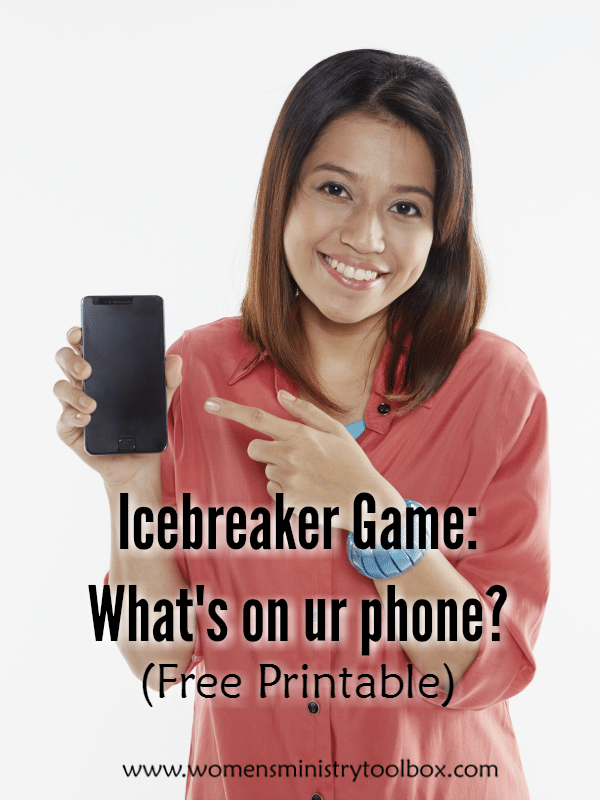 Icebreaker Game: What's on ur phone?