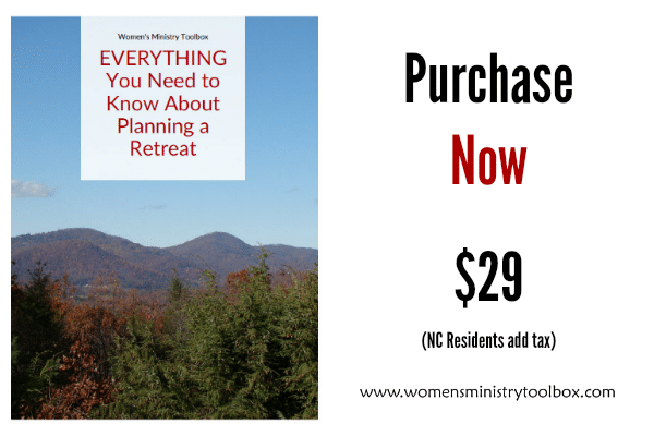 Purchase Now EVERYTHING You Need to Know About Planning a Retreat Ebook