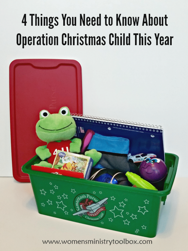 4 Things For Christmas.4 Things You Need To Know About Operation Christmas Child