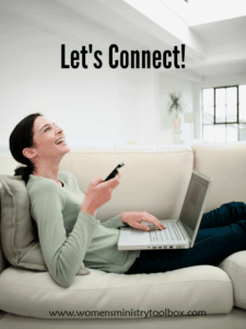 Connect with Women's Ministry Toolbox on social media!