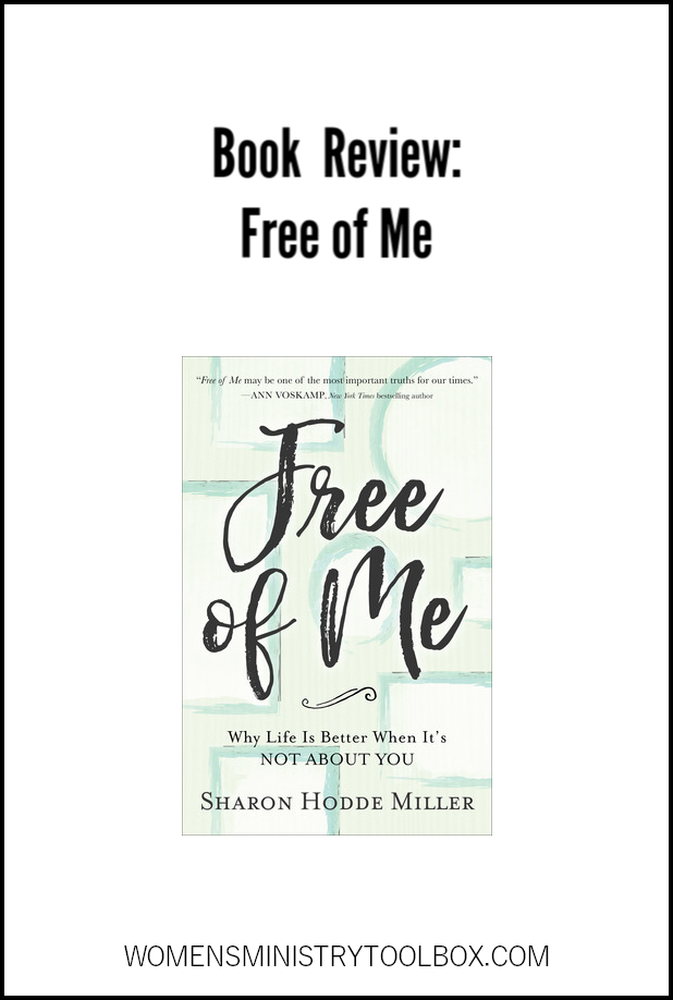Book Review Free of Me. Recommended for Bible study groups and book clubs.