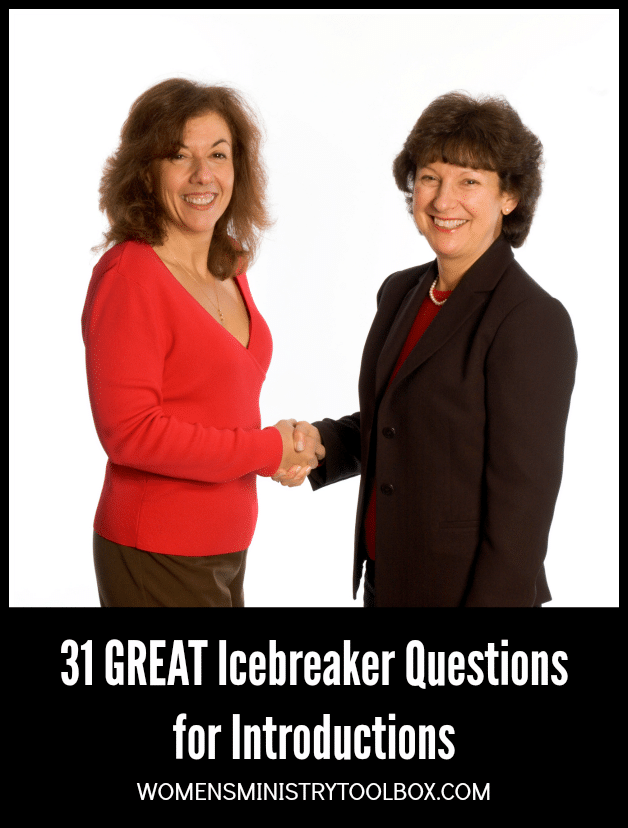 Introductions don't need to be boring! These 31 great icebreaker questions spur great conversation and provide points of connection.