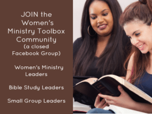 Join the Women's Ministry Toolbox Community
